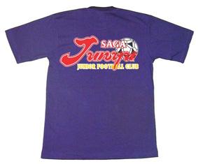 4色プリントでオリジナルチームTシャツ